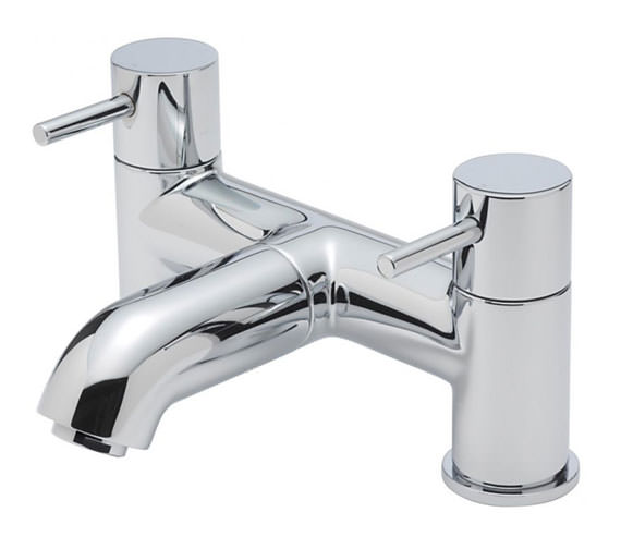 Tre Mercati Milan Pillar Mounted Bath Filler Tap Chrome - 63040
