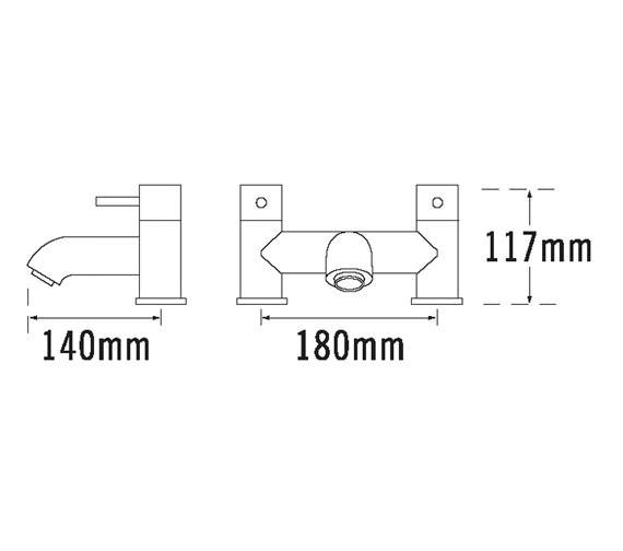 Technical drawing QS-V31274 / 63040