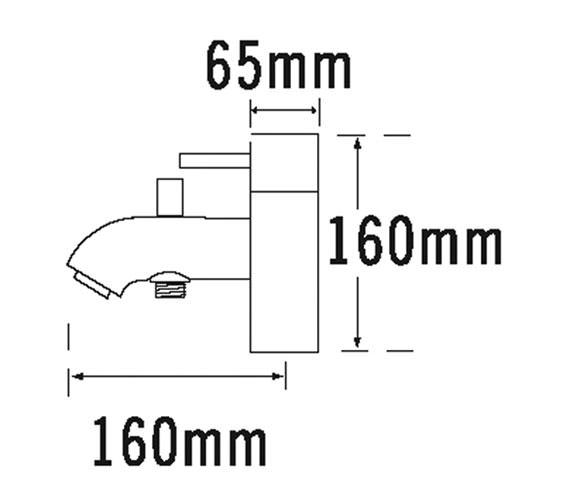 Technical drawing QS-V31277 / 63060