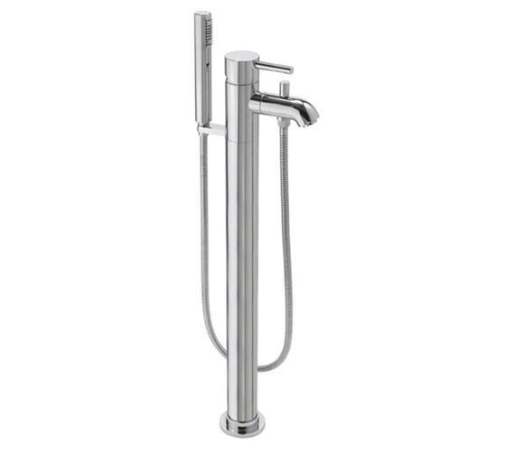 Tre Mercati Milan Floor Mounted Mono Bath Shower Mixer Tap With Kit