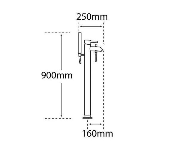 Technical drawing QS-V31278 / 63561