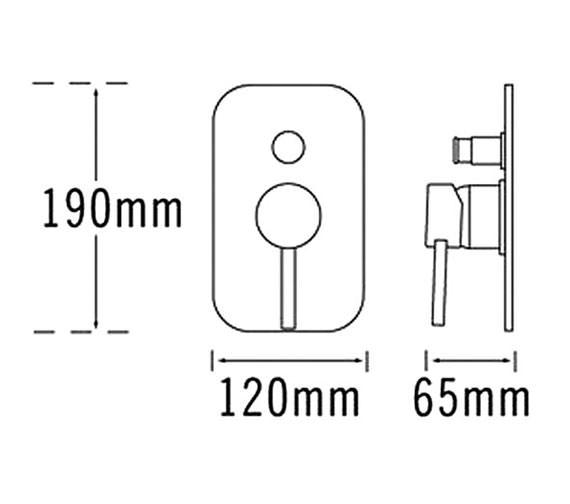 Technical drawing QS-V31283 / 63130