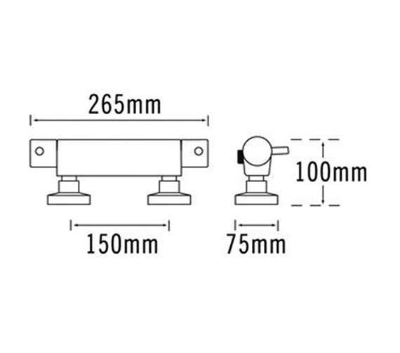 Technical drawing QS-V31287 / 63210