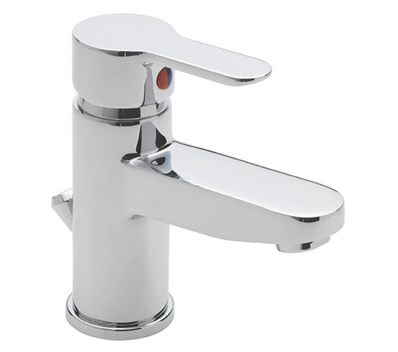 Tre Mercati Lollipop Mono Basin Mixer Tap With Pop Up Waste - 1270