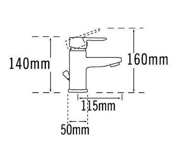 Technical drawing QS-V31345 / 1270