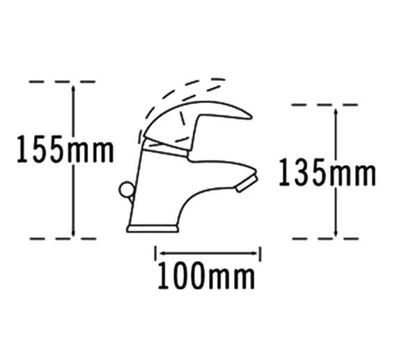 Technical drawing QS-V31380 / 65062
