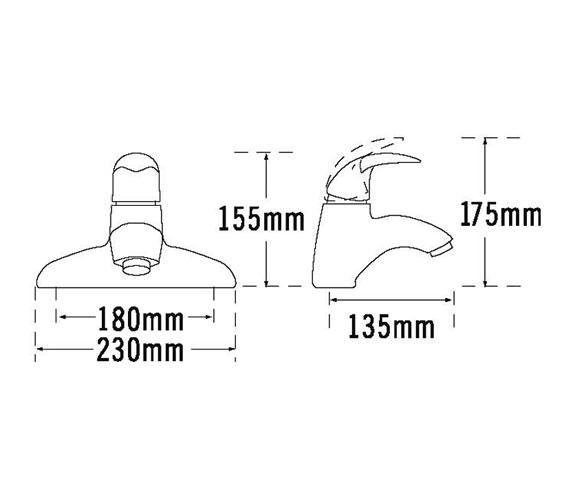 Technical drawing QS-V31384 / 65040