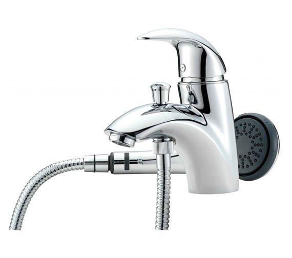 Tre Mercati Novara Mono Bath Shower Mixer Tap with Shower Kit - 65060