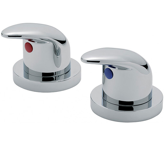 Tre Mercati Novara 3-4 Inch Pair Of Side Valve Chrome - 65000