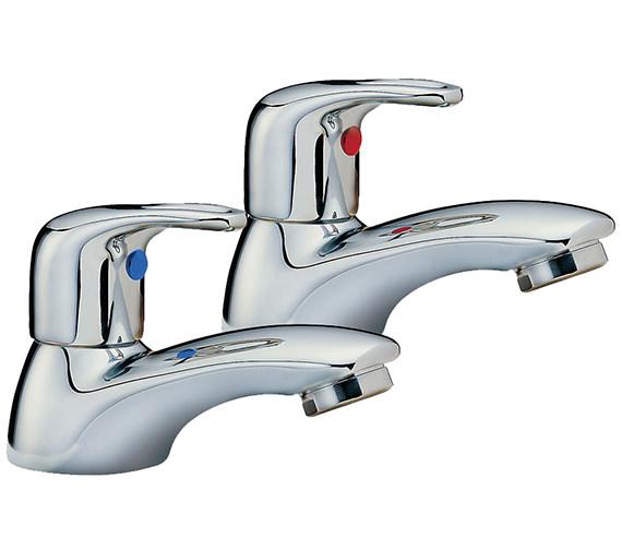 Tre Mercati Latina Pair Of Bath Tap Chrome - 25020