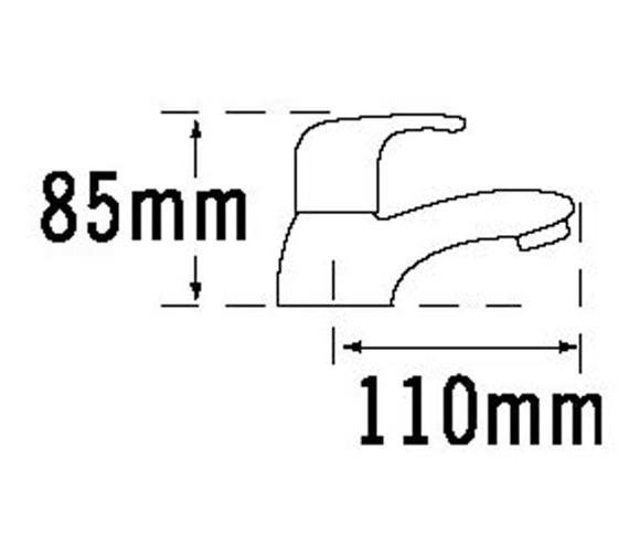 Technical drawing QS-V31393 / 25020
