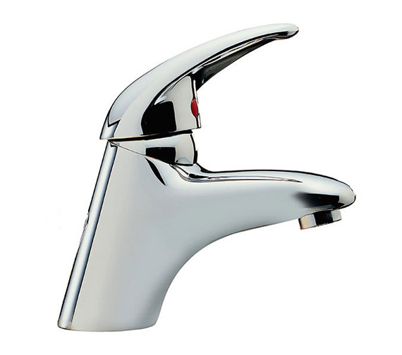 Tre Mercati Latina Mono Basin Mixer Tap With Click Clack Waste - 25065