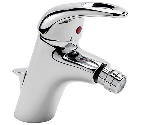 Tre Mercati Latina Mono Bidet Mixer Tap With Pop Up Waste