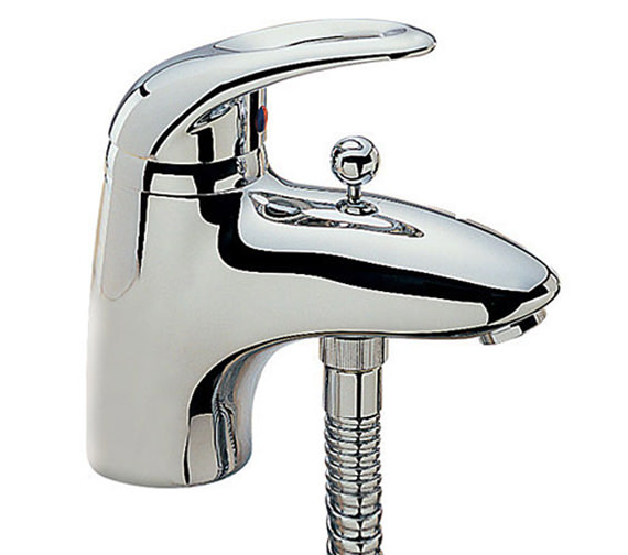 Tre Mercati Latina Mono Bath Shower Mixer Tap with Shower Kit