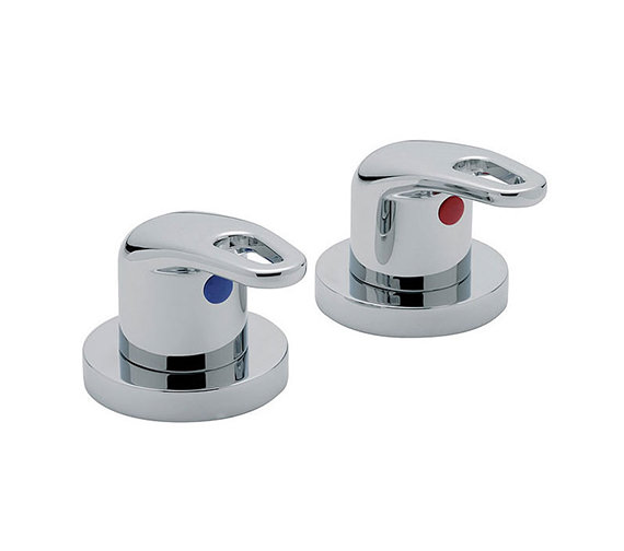 Tre Mercati Latina 3-4 Inch Pair Of Side Valve Chrome - 25000