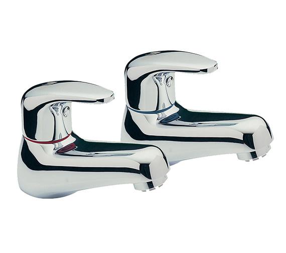 Tre Mercati Modena Pair Of Basin Tap Chrome - 95010
