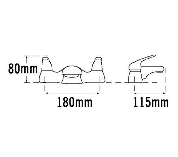 Technical drawing QS-V31417 / 95030
