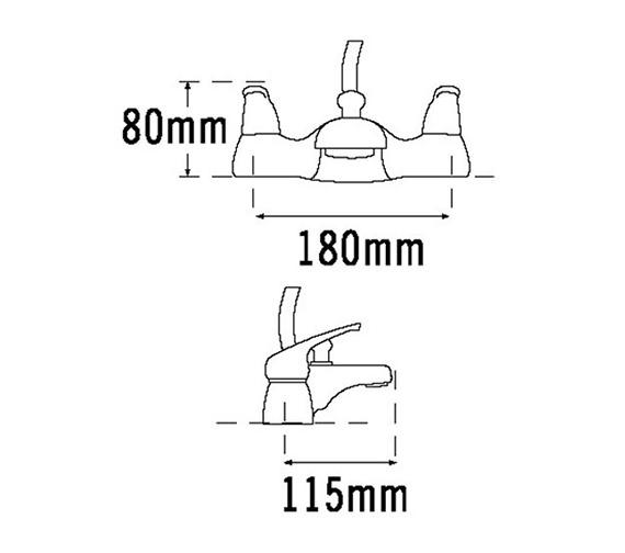 Technical drawing QS-V31419 / 95050