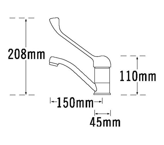 Technical drawing QS-V31425 / 180