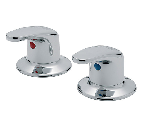 Tre Mercati Modena 3-4 Inch Pair Of Side Valve Chrome - 95000