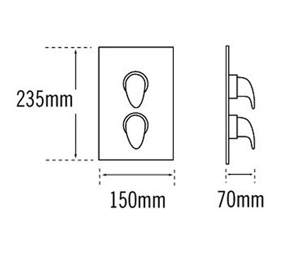 Technical drawing QS-V31429 / 95420