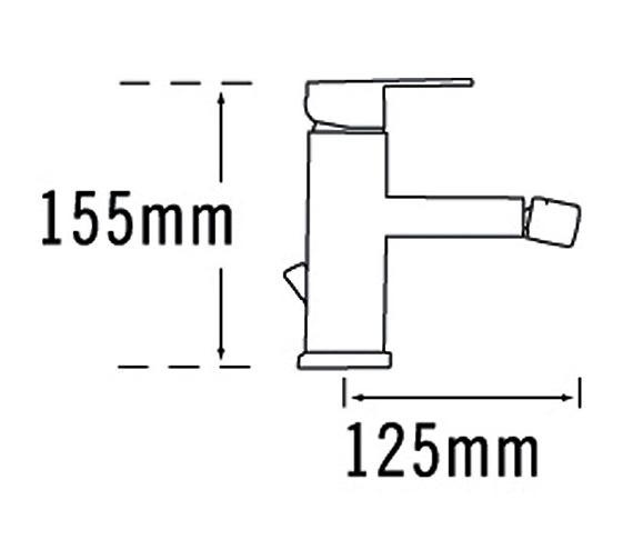 Technical drawing QS-V31434 / 22380