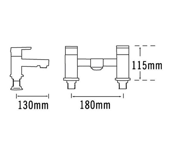 Technical drawing QS-V31435 / 22340