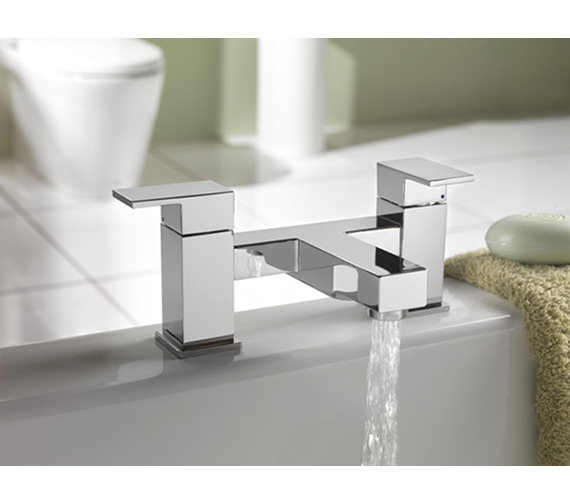 Tre Mercati Edge Pillar Mounted Bath Filler Tap