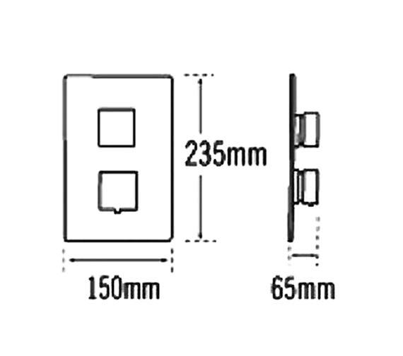 Technical drawing QS-V31437 / 83021