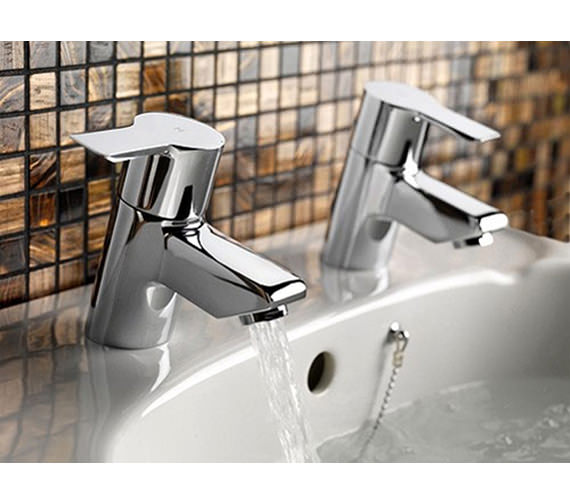 Tre Mercati Angle Pair Of Basin Tap