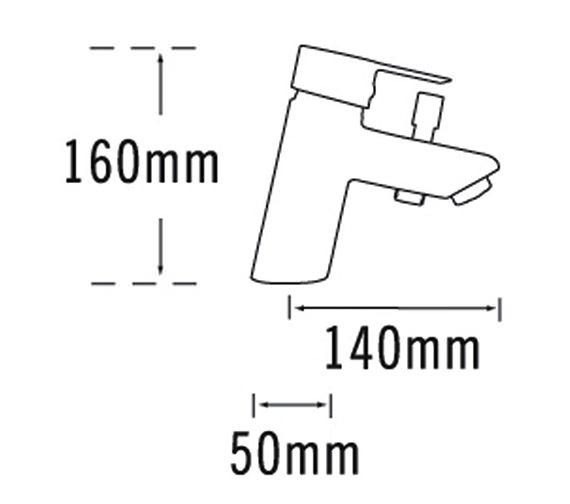 Technical drawing QS-V31445 / 22160