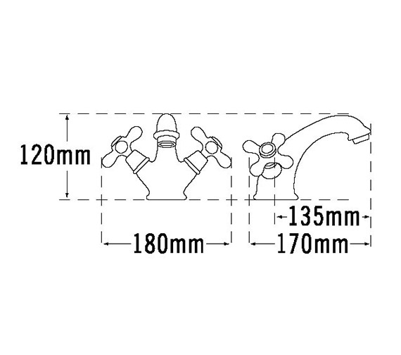 Technical drawing QS-V31454 / VICT6