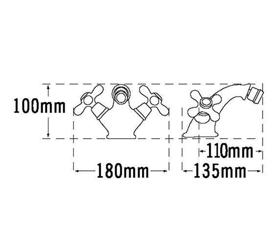 Technical drawing QS-V31456 / VICT7