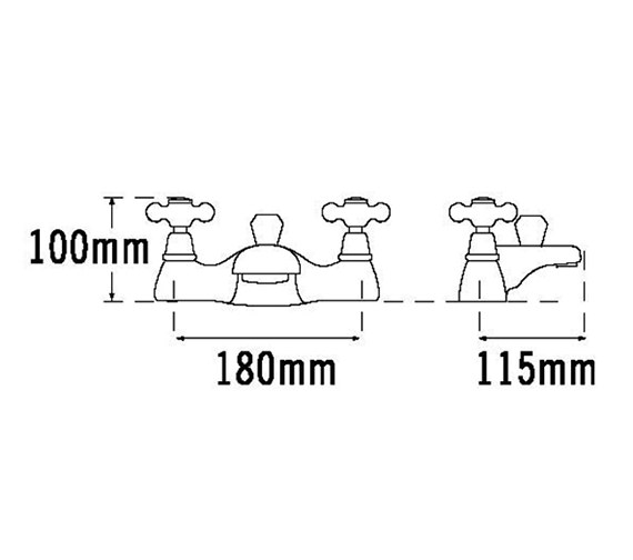Technical drawing QS-V31459 / VICT55