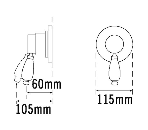 Technical drawing QS-V31461 / VICT/4