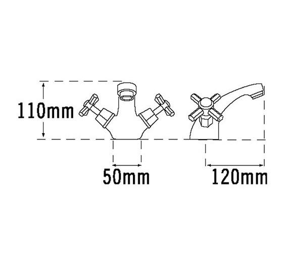 Technical drawing QS-V31464 / 1406