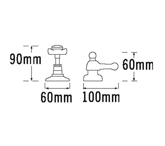 Technical drawing QS-V31484 / 1080B