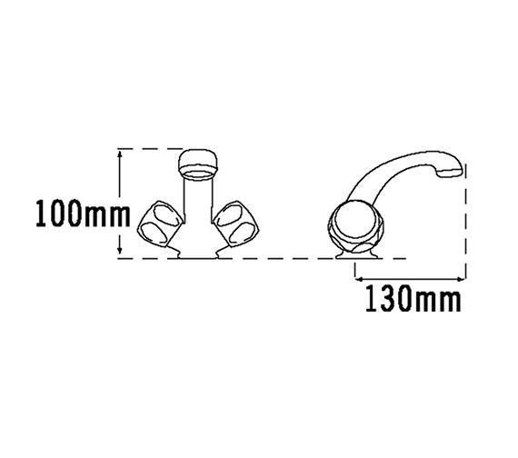 Technical drawing QS-V31506 / 386A