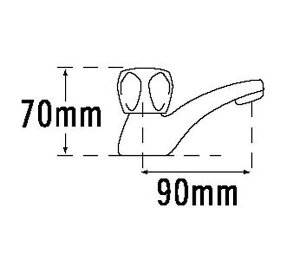 Technical drawing QS-V31520 / 311B