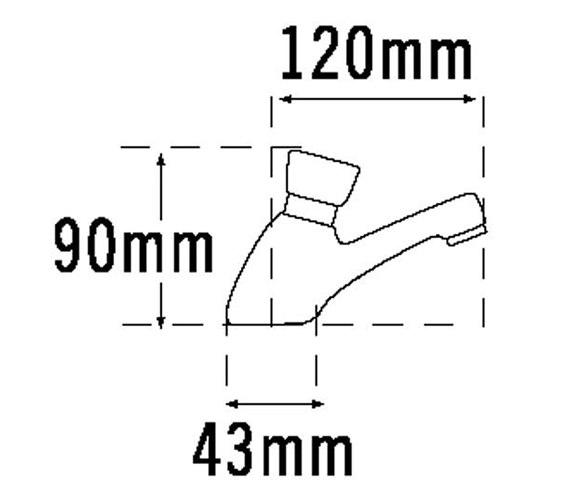 Technical drawing QS-V31521 / 406B