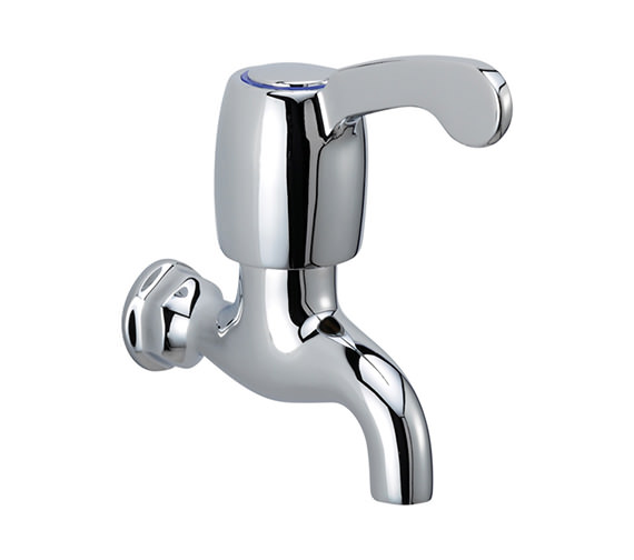 Tre Mercati Capri Lever Single Bib Tap With 3 Inch Lever Chrome