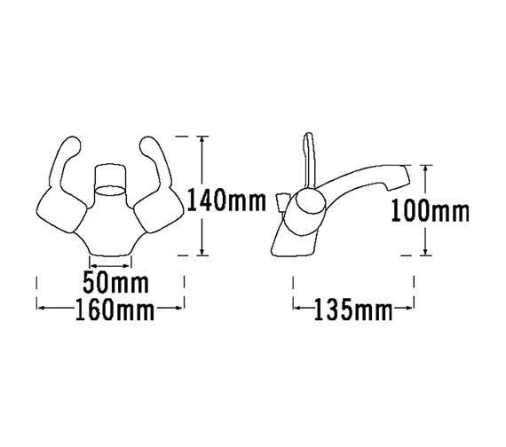 Technical drawing QS-V31535 / 3073