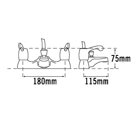 Technical drawing QS-V31538 / 3053