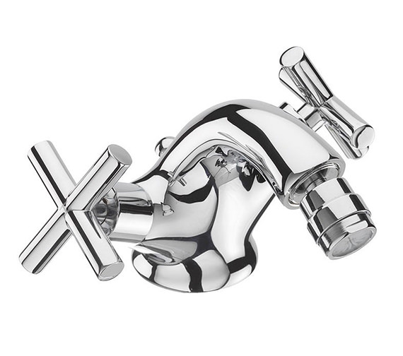 Tre Mercati Maverick Fixed Spout Mono Bidet Mixer Tap And Pop Up Waste