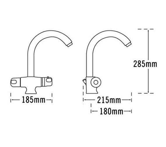 Technical drawing QS-V31559 / 31060