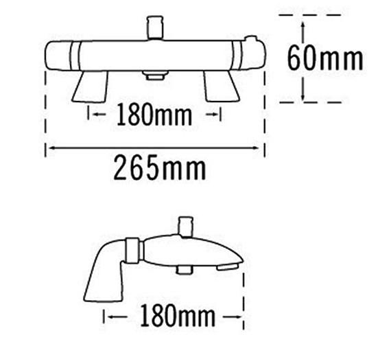 Technical drawing QS-V31560 / 31150