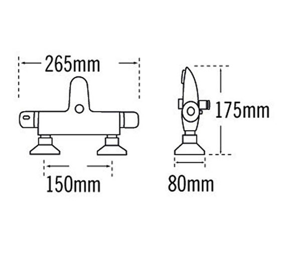 Technical drawing QS-V31561 / 31155