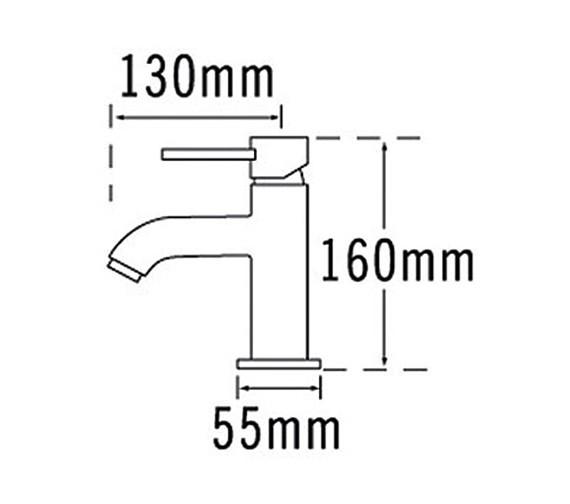 Technical drawing QS-V31564 / 63370