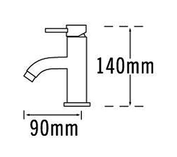 Technical drawing QS-V31565 / 63363