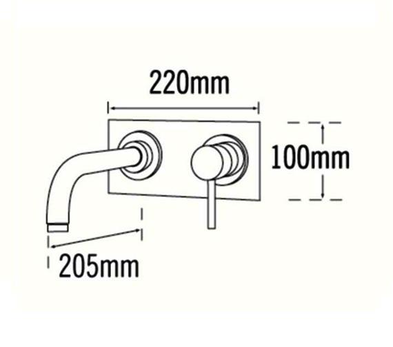 Technical drawing QS-V31567 / 63390
